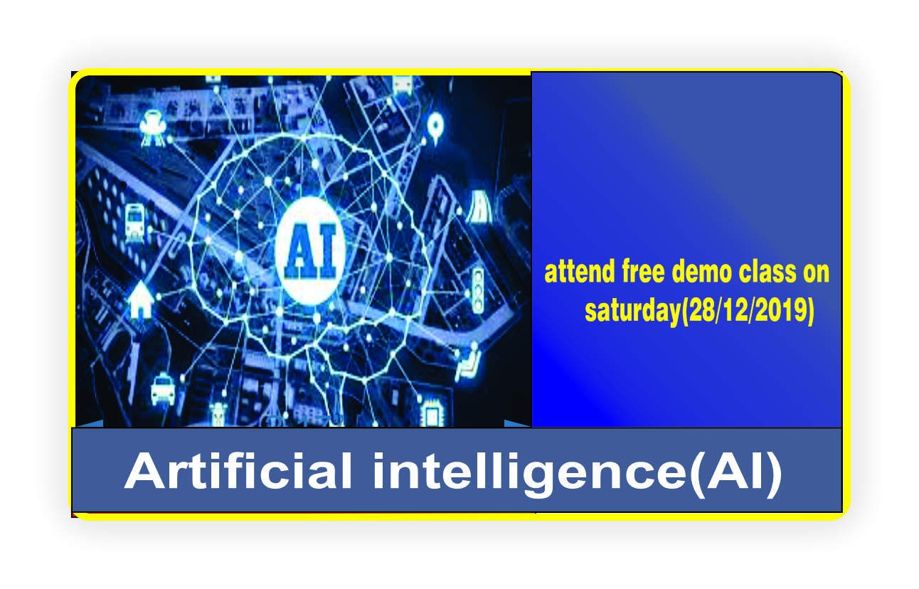 Artificial intelligence(AI) training in hyderabad